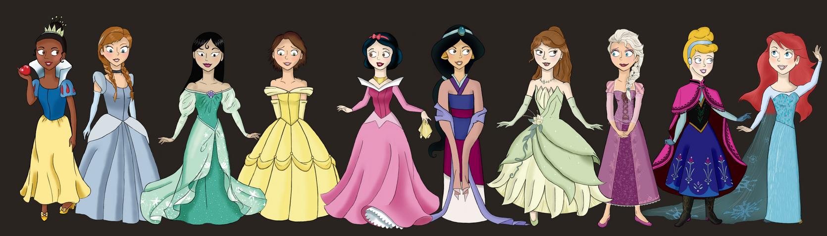 Диснеевские принцессы Википедия 321