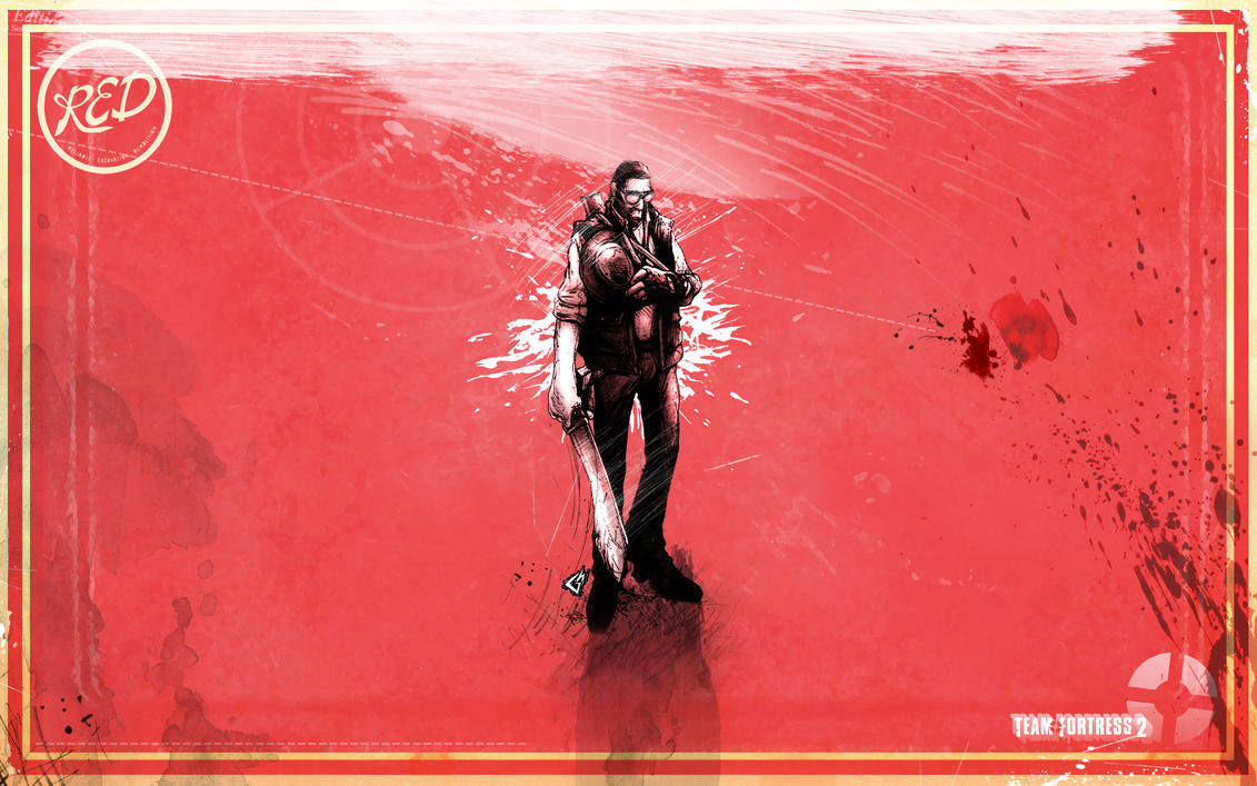 Sniper Red Wallpaper By GAVade