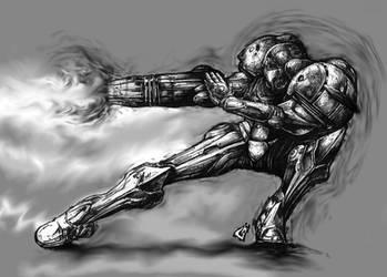 Power Beam Sketch by GAVade