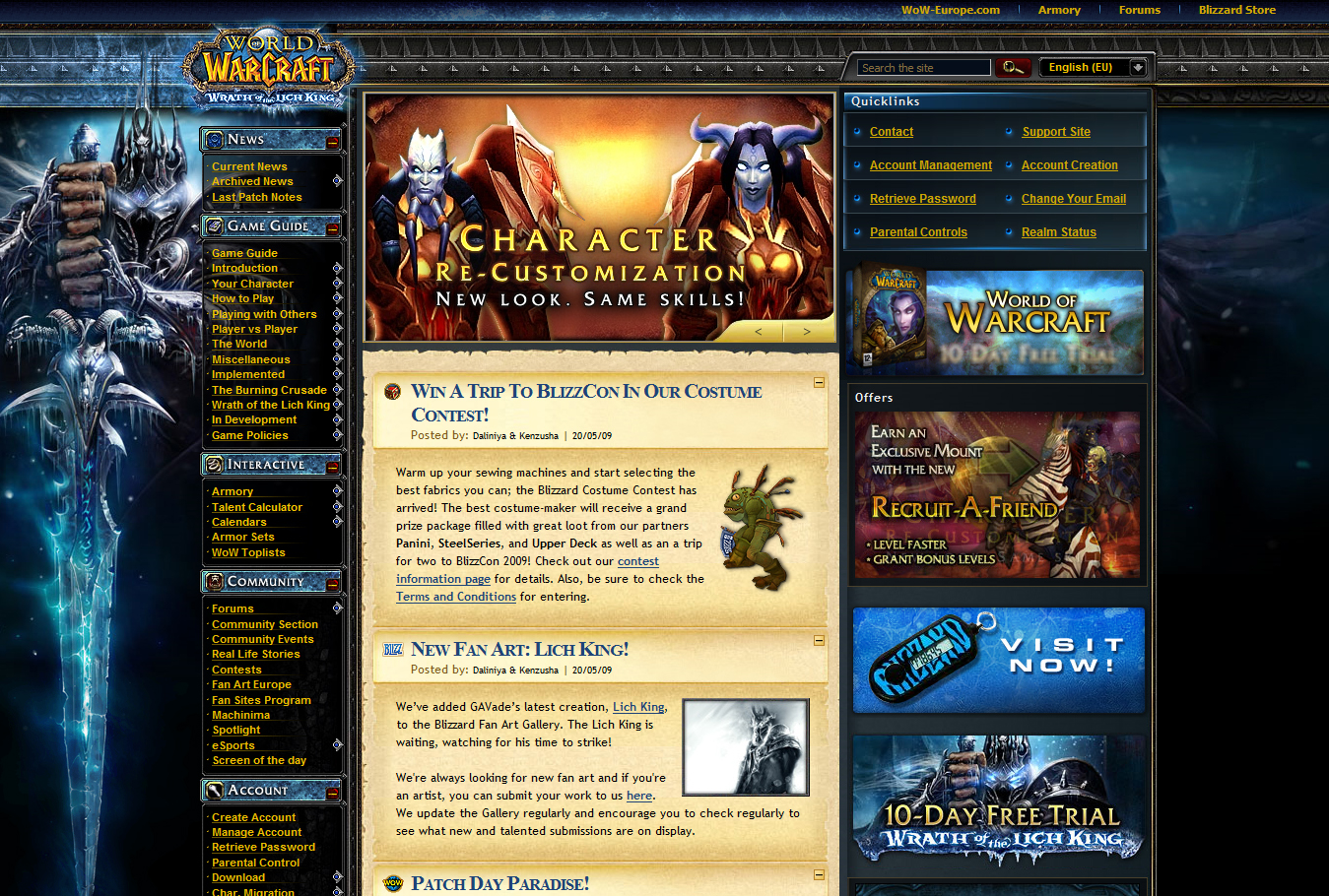 Gav on WoW main page by GAVade on DeviantArt