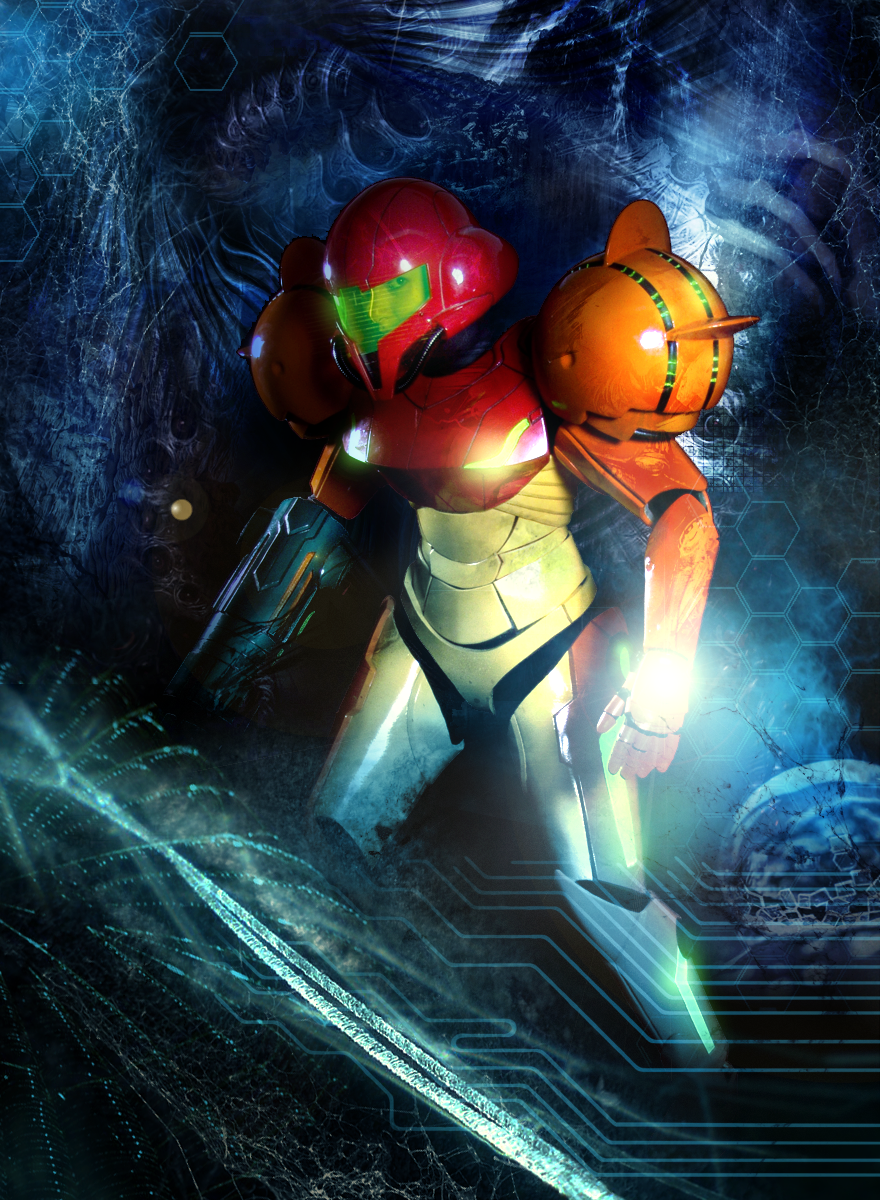 The Real Samus by GAVade