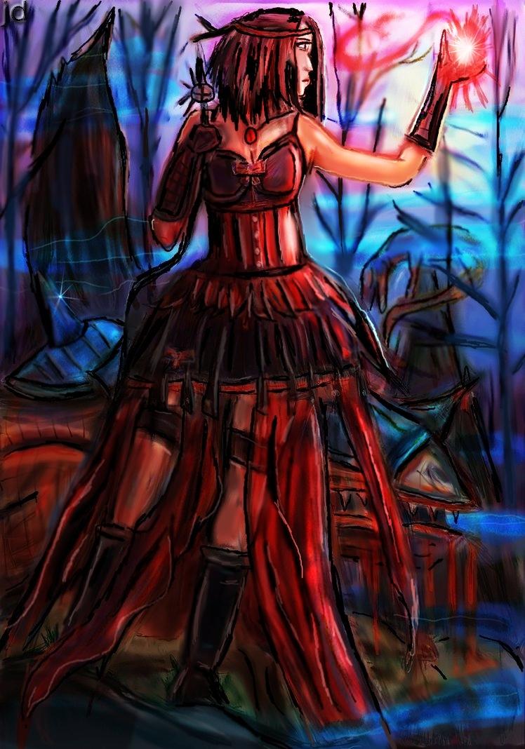 dark soceress by BndDigis