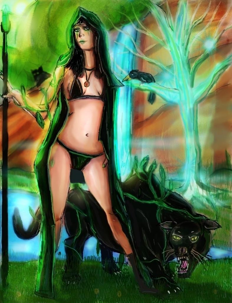 Druidess by BndDigis