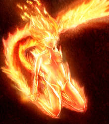 fire elemental by BndDigis