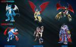 Digimon Evolution Chart 5