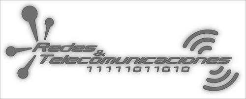 Logo RedesyTelec. by juankarlitoz