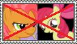 *REQUEST* Anti-Babs Seed/Apple Bloom by FairyKitties22