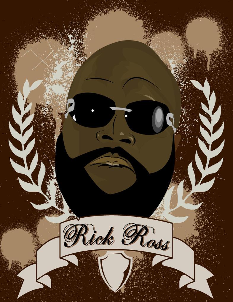 Rick Ross by darcwonn