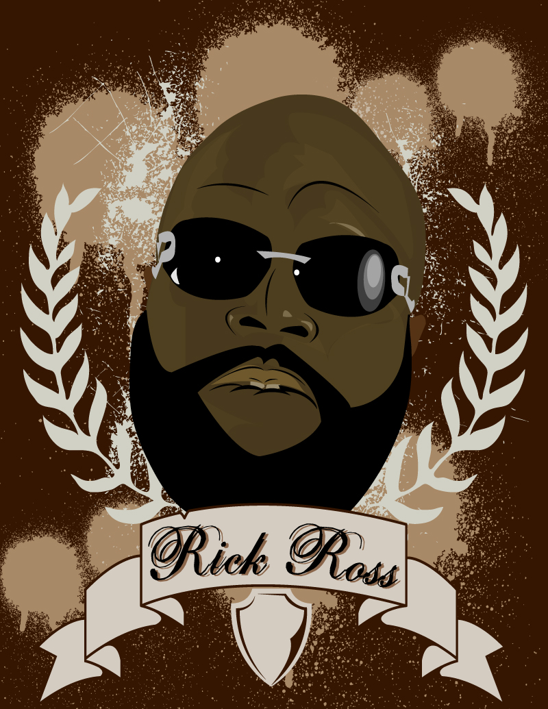 Rick Ross by darcwonn