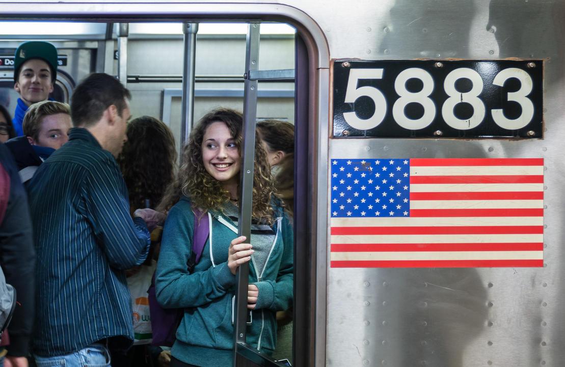 Subway Smiles by niklin1