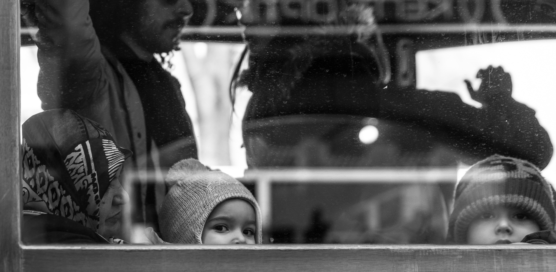 Kids on the Tram by niklin1