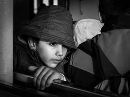 Boy On the Ferry by niklin1