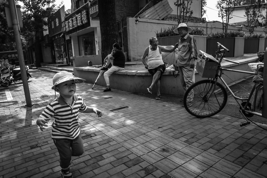 On Xizhimen Inner Street by niklin1
