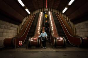 Prague Subway by niklin1
