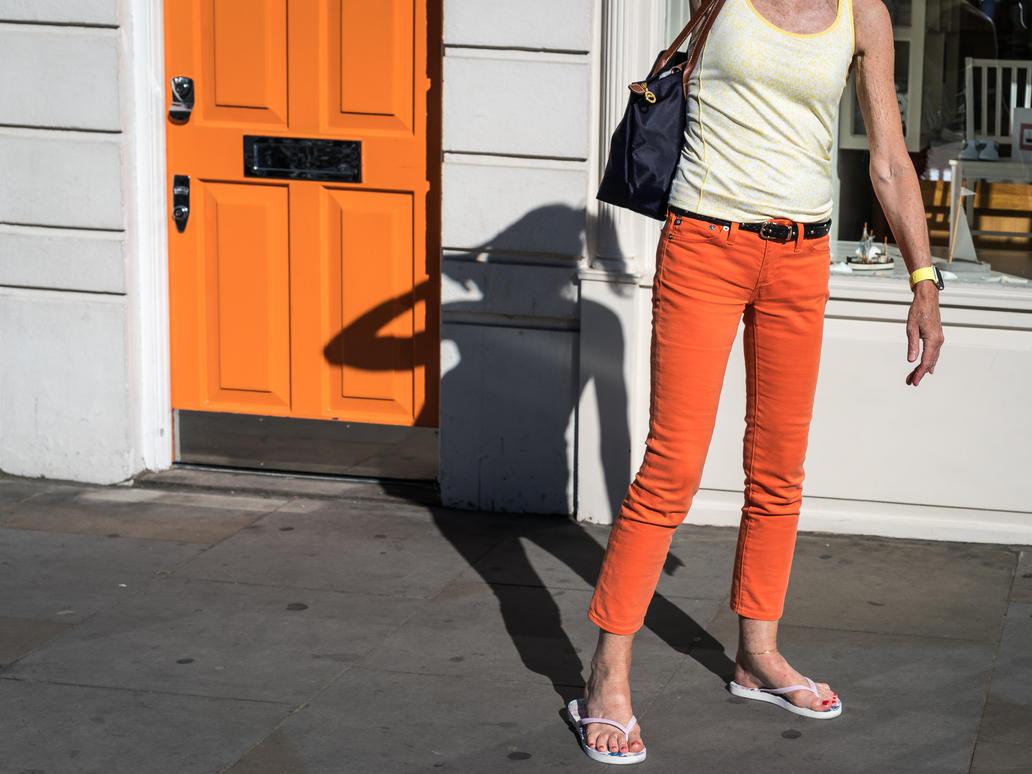 Orange and White by niklin1