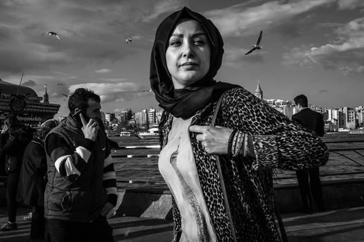 Istanbul Street Portrait #14