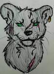 Luca - feline leader by kittycatswagger