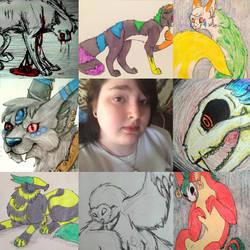 Art VS. Artist  by kittycatswagger