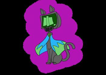 Robo Kitty by kittycatswagger