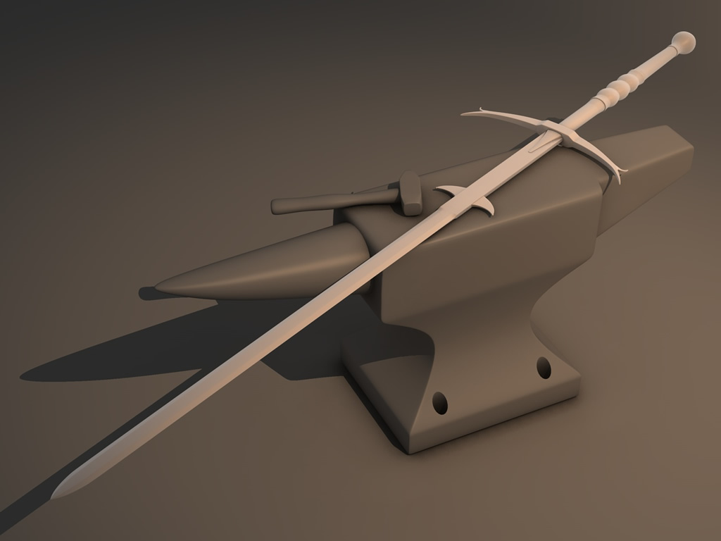 Zweihander Sword Got rid of the leather on the