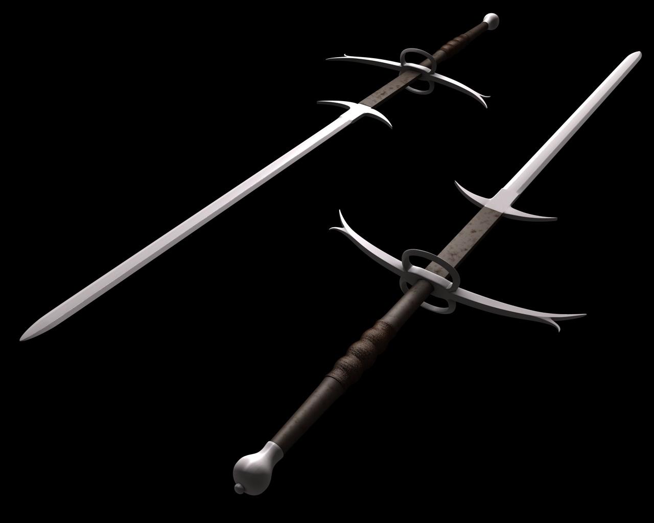 Zweihander Sword Crane Ichabod | A Wish...