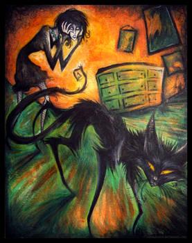 Black Cat Crossed Her Path