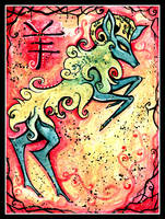 Chinese Zodiac: RAM by IceandSnow