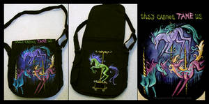 Creepy Carousel Horse Bag by IceandSnow