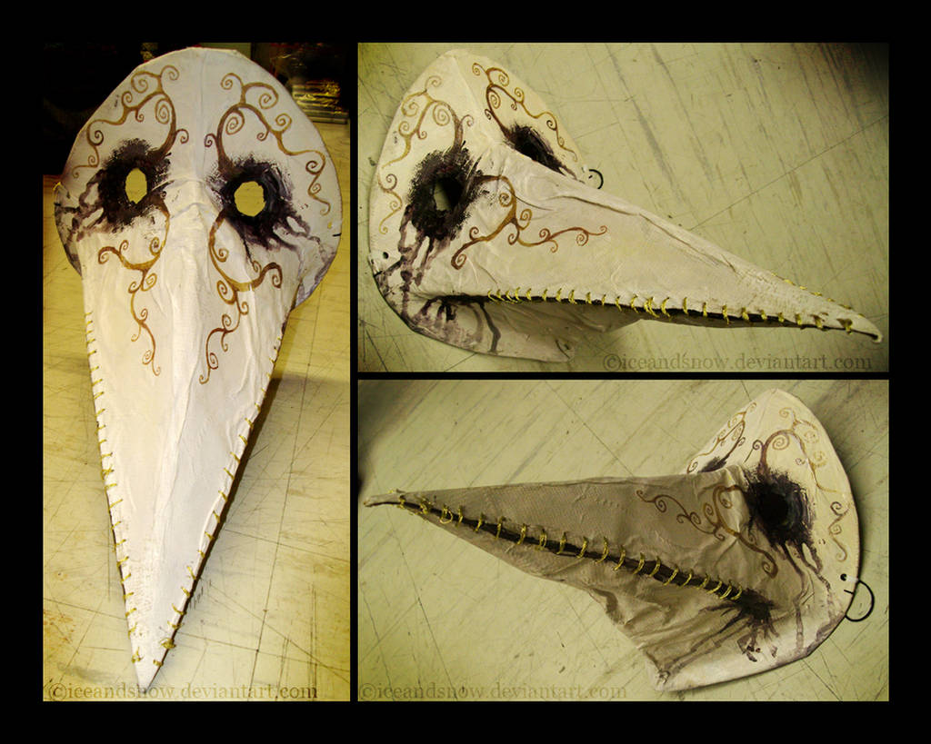 Plague Doctor Mask by IceandSnow
