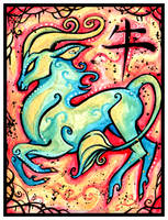 Chinese Zodiac: OX by IceandSnow