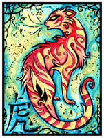 Chinese Zodiac: TIGER by IceandSnow