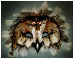 Owl Mask by IceandSnow
