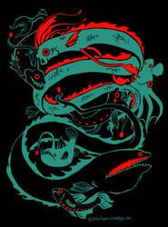 Deep Sea Creatures Design