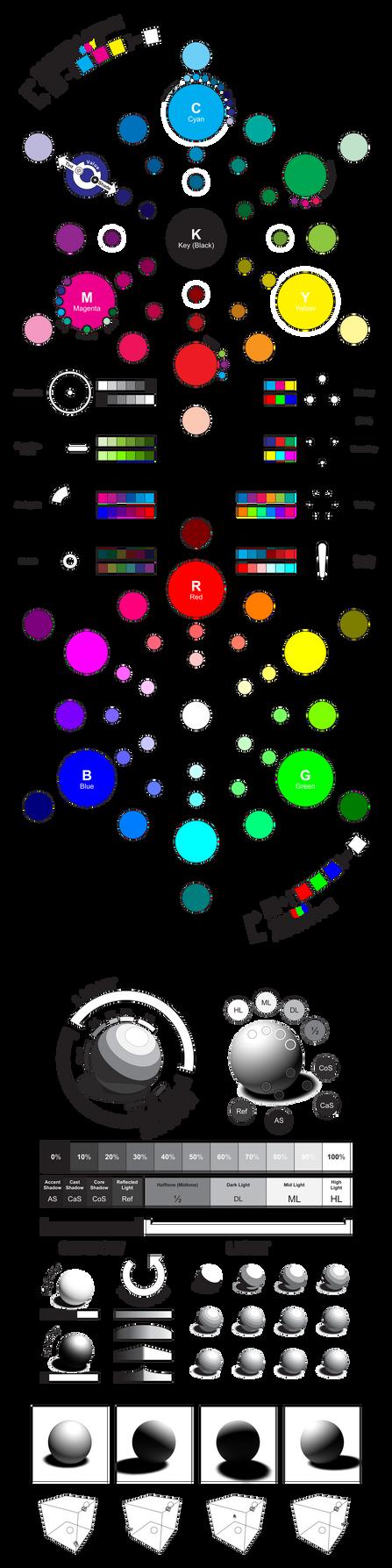 COLOR Primer - :Color + Value: by ziinyu