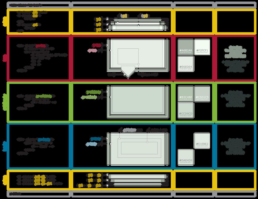 dA Piece by Piece : CSS + Box by ziinyu