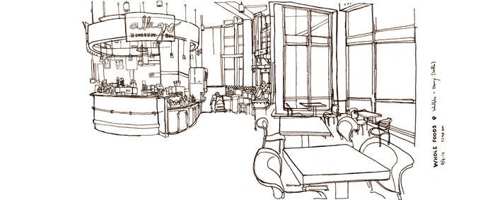 Quick-Sketch (Journal) Grocery Store