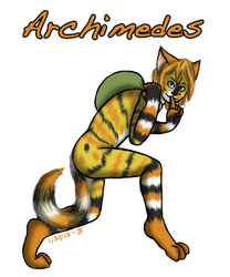 Request: Archimedes by FantasiaKitty