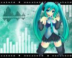 Vocaloid: Miku Wallpaper