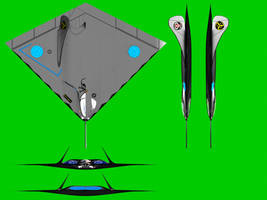 Stealth fighter by LordDanieltheGrey