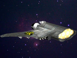 Space Bomber by LordDanieltheGrey