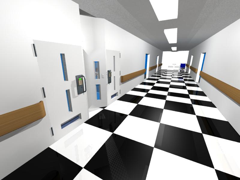 Hospital floor by LordDanieltheGrey