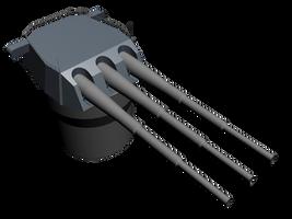 50cm-3-Gun-tower-WIP by LordDanieltheGrey