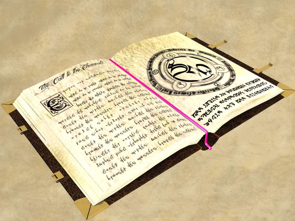 Magic Book by LordDanieltheGrey