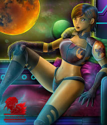 Sabine commission by FaustDarkSoul
