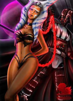 Ashoka  and Darth Vader Commission