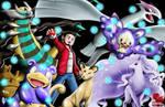Commission: Phantom5768 Pokemon Trainer by FaustDarkSoul