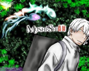 Ginko of Mushi-Shi by xXWilted-RoseXx