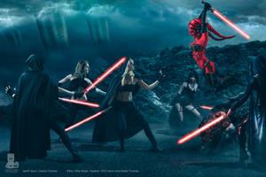 Sith Fight by Dahlia-Thomas