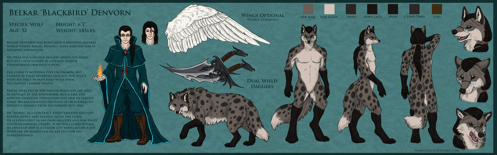 Blackbird Reference Sheet by Shark5060