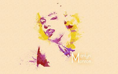 Marilyn Monroe Wallpaper by DiFoGA